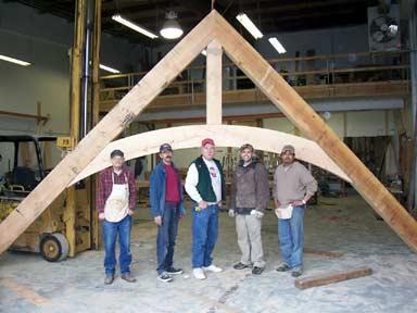 Timber Truss crew